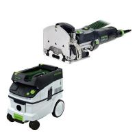 Festool DF 500 Q Domino with T-LOC   CT 26 Dust Extractor Package