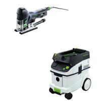 Festool Carvex PS 420 EBQ Plus Jigsaw with T-LOC   CT 36 Dust Extracto