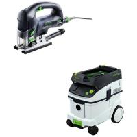 Festool Carvex PSB 420 EBQ Plus D-Handle Jigsaw    CT 36 Dust Extracto