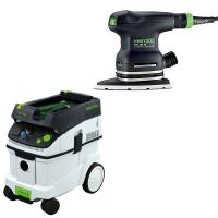 Festool DTS 400 EQ Sander with T-LOC   CT 36 Dust Extractor Package