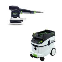 Festool ETS 150/3 EQ Random Orbital Sander with CT 36 HEPA Dust Extrac