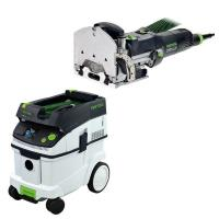 Festool DF 500 Q Domino with T-LOC   CT 36 Dust Extractor Package