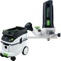 Festool MFK 700 Eq Trim Router with T-LOC   CT 36 Dust Extractor Packa