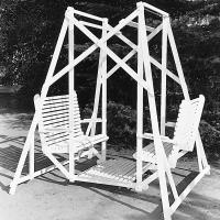 Woodworking Project Paper Plan to Build Lawn Glider Swing Plan No. 276