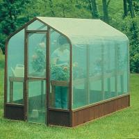 Woodworking Project Paper Plan to Build Greenhouse Plan No. 557