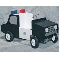 Woodworking Project Paper Plan to Build Police Pedal Car Plan No. 895