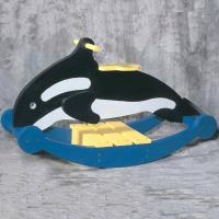 Woodworking Project Paper Plan to Build Rocking Whale Plan No. 913