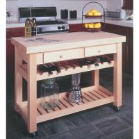 Woodworking Project Paper Plan for Kitchen Island No. 932