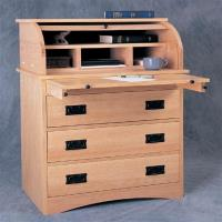 Woodworking Project Accessory to help Build Roll-Top Secretary Tambour