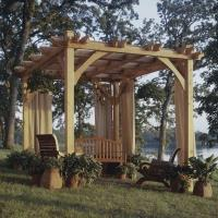 Woodworking Project Paper Plan to Build Build-to-suit Pergola