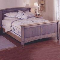 Downloadable Woodworking Project Plan to Build Country-Fresh Bed