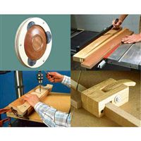 Woodworking Project Paper Plan to Build Ten Great Jigs