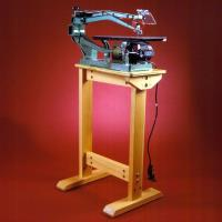 Woodworking Project Paper Plan to Build Super-Sturdy Scrollsaw Stand