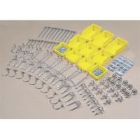 Hook Assortment 95 pc with 10 Hanging Bins for Peg Board