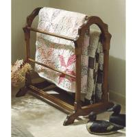 Woodworking Project Paper Plan to Build Country Classic Quilt Rack (La