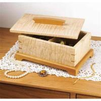 Downloadable Woodworking Project Plan to Build Secret-Compartment Jewe