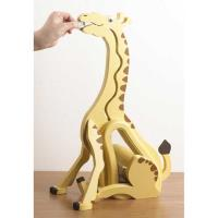 Woodworking Project Paper Plan to Build Money-Hungry Giraffe Bank