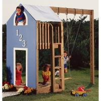 Woodworking Project Paper Plan to Build Kidand39;s Play Structure