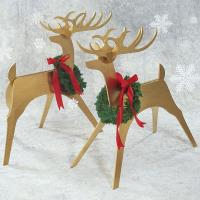 Woodworking Project Paper Plan to Build Sleek and Stylish Reindeer