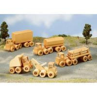 Woodworking Project Paper Plan to Build Wrecker Dump Truck and Heavy H