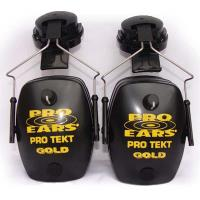 Pro TEKT Mag Gold Electronic Hearing Protection with Standard Headband