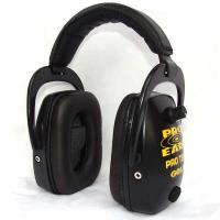 Pro TEKT Slim Gold Electronic Hearing Protection with Standard Headban