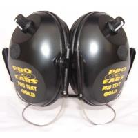 Pro Tekt Gold Electronic Hearing Protection with Behind The Head Headb