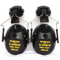 Pro TEKT Plus Gold Electronic Hearing Protection with Hard Hat Adaptor