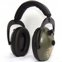Pro TEKT 300 Electronic Hearing Protection with Standard Headband Gree