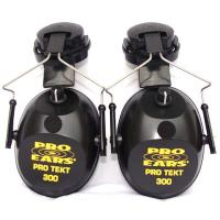 Pro TEKT 300 Electronic Hearing Protection with Hard Hat Adaptor Black