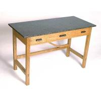 Woodworking Project Paper Plan to Build Library Table AFD202