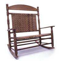 Woodworking Project Paper Plan to Build Wedding Double Rocking Chair A