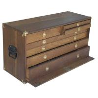 Woodworking Project Paper Plan to Build Tool Chest AFD237