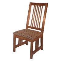 Woodworking Project Paper Plan to Build Mission Style Dining Chair AFD