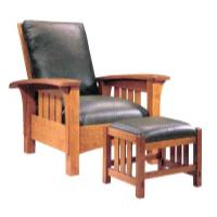 Woodworking Project Paper Plan to Build Bow Arm Morris Chair AFD181