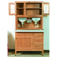 Woodworking Project Paper Plan to Build Hoosier Kitchen Cabinet AFD315
