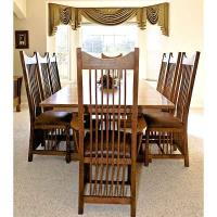 Woodworking Project Paper Plan to Build Contemporary Dining Table AFD4