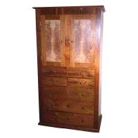 Woodworking Project Paper Plan to Build Shaker Dresser AFD145
