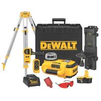 DeWalt 18V Self-Leveling Interior/Exterior Rotary Laser Package Model