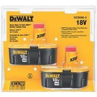 DeWalt 18V XRP Battery Combo Pack 2 pieces Model DC9096-2