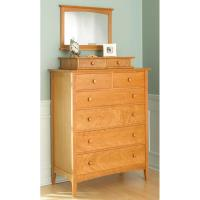 Woodworking Project Paper Plan to Build Shaker-style Dresser with Vale