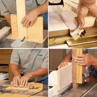 Downloadable Woodworking Project Plan to Build 4 Task-Tackling Tablesa