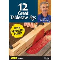 The Best of Jim Heavey on DVD 12 Great Tablesaw Jigs DVD