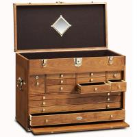 Ultimate USA Treasure Chest and Base Set in American Cherry