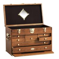 Classic Tool Chest and Base Set in American Cherry