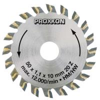 Tungsten Tipped blade for Proxxon KS 115 20 teeth 2