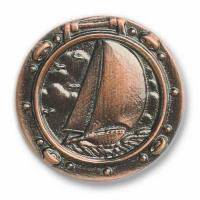 Buck Snort Lodge Sailboat in Porthole Pull Oil Rubbed Bronze Model 100