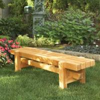 Woodworking Project Paper Plan to Build Durable Doable Outdoor Bench