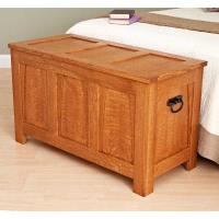 Woodworking Project Paper Plan to Build A Beauty of a Blanket Chest