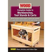 Complete Guide to Workbenches Tool Stands and Carts DVD
